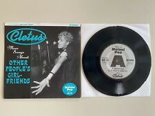 Cletus More Songs About Other People's Girl-Friends 7� Mutant Pop 1998 Punk