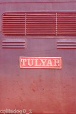 35mm RAILWAY SLIDE: NAMEPLATE: TULYAR (1) + COPYRIGHT
