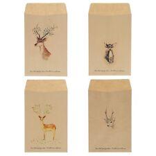 12Pcs Deer Paper Envelope 4 Designs Envelopes Vintage European For Card Gift