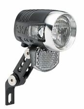 "AXA Blueline LED Faro de bicicleta 50 LUX ""Steady Auto"" para Dínamo de cubo"