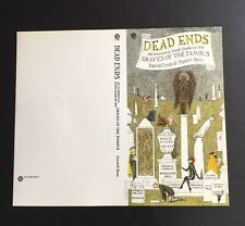 Edward Gorey *Advert for Dead Ends by Cross & Bent* ILLUS. & SIGNED BY GOREY