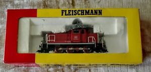 Vintage FLEISCHMANN HO Diesel Locomotive DB 635C 11/1325 Germany