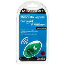 MOZZIGEAR MOSQUITO REPELLER Ultrasonic Mozzie Repellent - 3 Metres Coverage SAFE
