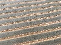 Pollack Ribbed Velvet Upholstery Fabric- Velvet Rope Eucalyptus 19.50 yd 4147/06
