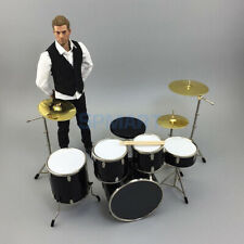 1/6 Drum set musical set not action figures include