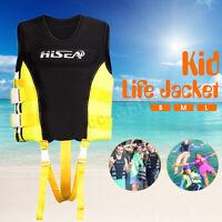 Kids Child Life Jacket Neoprene Vest COC/USCG Kayak Canoe Boating Buoyancy  *