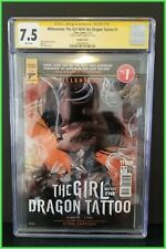 GIRL WITH THE DRAGON TATTOO #1 SIGNED BY ARTIST NEN CHANG CGC VERIFIED RARE