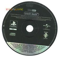 CRASH BASH Ps1 Versione Promo Italiana gioco completo »»»»» SOLO DISCO