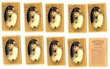 10x Lou Gehrig Aged Rookie Vintage Style Reprint Novelty Cards L#52