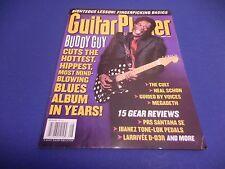 Guitar Player Magazine,August 2001,Buddy Guy,The Cult,Neal,Fingerpicking Basics