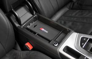 Interior Armrest Storage Box Organizer Holder 1pcs For Audi A4 2017 - 2018