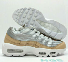 low priced 4d895 61430 Nike Air Max 95 SE Premium Platinum Silver Womens US Size 10 UK 7.5 EUR 42