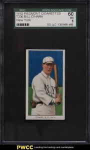 1909-11 T206 Bill O'Hara NEW YORK SGC 5 EX