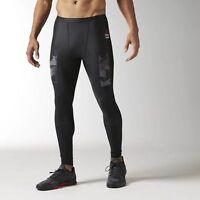 NEW $100 Men's Reebok CrossFit Compression Pant Black BJ9858