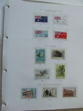 More details for australia 1991-98 used stamp collection on illustrated album pages