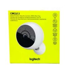 Brand New Logitech Circle 2 Indoor Outdoor Home Security Camera 1080p Wi-Fi W...