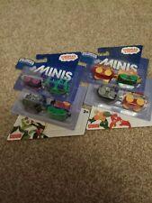 THOMAS & FRIENDS DC SUPER FRIENDS MINIS TRAIN 4 PACK TOY X 2