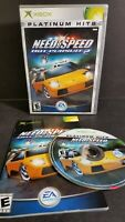 Need for Speed: Hot Pursuit 2  PLATINUM HITS for the Original Xbox COMPLETE CIB