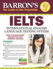 Barron's IELTS with MP3 CD, 4th Edition Loughleed, Dr. Lin VeryGood