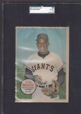 1967 Topps Pin Ups Poster Insert #12 Willie Mays San Francisco Giants 6.5 EX-MT+