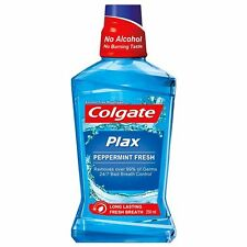 Colgate Plax Peppermint Fresh Mouthwash 250 ml bottle 8.45 oz mouth wash