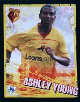 ASHLEY YOUNG ROOKIE Sticker Merlin Premier League Kick Off 06/07