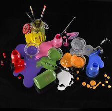 Mehron Liquid Makeup 1oz Bottle W/ Brush Professional Water Base Face/Body Paint