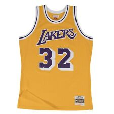 Los Angeles Lakers Magic Johnson Mitchell & Ness 1984-85 Gold Swingman Jersey