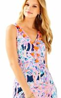 Lilly Pulitzer Pelican Pink Head In The Sand Cabrey Shift Dress  New