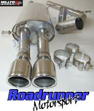 Milltek Ibiza FR 1.8 20VT Exhaust Cat Back System Non Resonated Twin SSXSE008