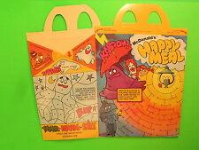 1981 McDonalds HM Box - Adventures of Ronald McDonald - Kaboom