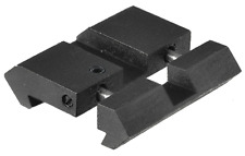 11mm Dovetail to 20mm Picatinny/Weaver Rail Adaptor-Package includes 2 adaptors