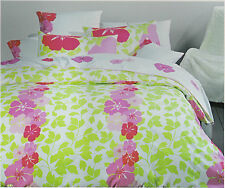 JALOUSIE Hybiscus - King Size Doona/Quilt Cover Set - 225TC Cotton BNIPack
