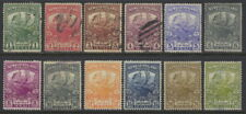 Newfoundland 115 to 126 used set except for 121, 123 to 125 which are mh,caribou