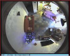 TELECAMERA FISHEYE 1.3MegaPixel PoE con DVR su SD-Card