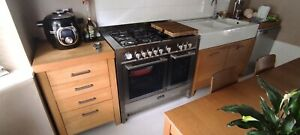 Baumatic dual fuel range cooker 100cm