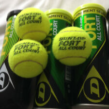 15 usati Palline da Tennis DUNLOP FORT ALL COURT