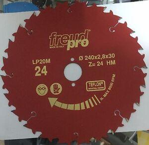 Freud LP20M024 240x2,8x30 Pro Ind Lama Circolare per macchine portatili