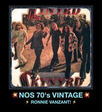 Orig 70s Ronnie Van Zant Lynyrd Skynyrd Rebel Southern Rock Vtg t-shirt iron-on