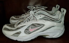 NIKE XCCELERATOR Womens Running Shoes Pink White Silver - NEW- Size 11