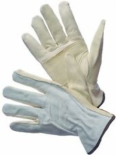2 Pairs Cow Grain Leather Driver Gloves Keystone X Large