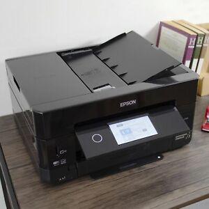 Epson Expression Premium XP-7100 Wireless Color Photo Printer - Black
