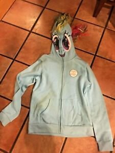 My Little Pony Costume Adult  Hoodie  Available in  L  NEW