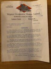 Wigston Co-operative Hosiers, Integrity