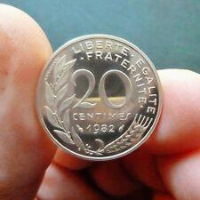 """20 Centimes """"Marianne"""" - 1982 - PIEFORT - Argent"""