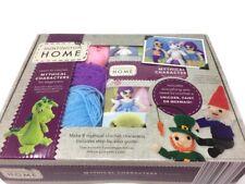 Hunnington Home Crochet Kit Beginners Mythical Characters Unicorn Mermaid