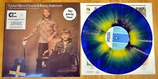 ABBA-Björn Ulvaeus & Benny Andersson-lycka - 12 Inch Blue Yellow Vinyle