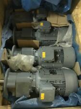 *NEW* Bühler gmbh SK-132MH/4 AC GEARED DRIVE MOTOR gearmotor 7.5kw/10hp