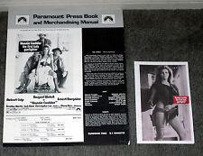 HANNIE CAULDER original 1971 pressbook RAQUEL WELCH/STROTHER MARTIN/JACK ELAM