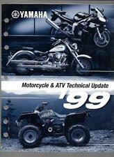 1999 Yamaha Motorcycle & Atv Technical Update Manual Lit-17500-00-99